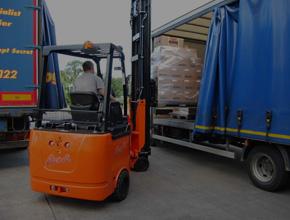 Bendi Forklift Articulated VNA Forklift Truck
