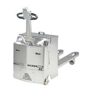 Stainless Steel Powered Pallet Truck