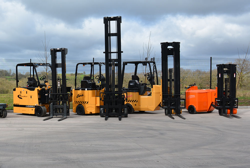 VNA Articulated Forklifts for Hire