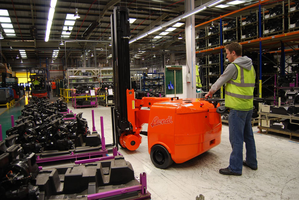 Articulated Forklift Driver training