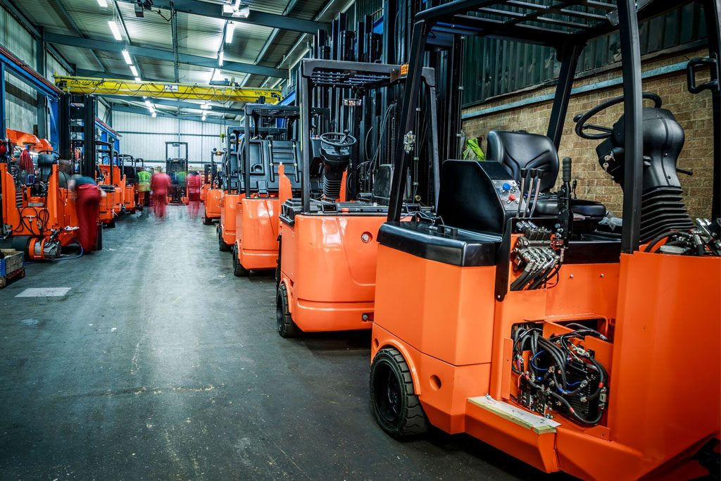 Used Articulated Forklift