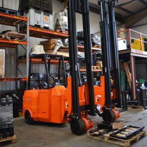 Secondhand VNA Articulated Forklifts